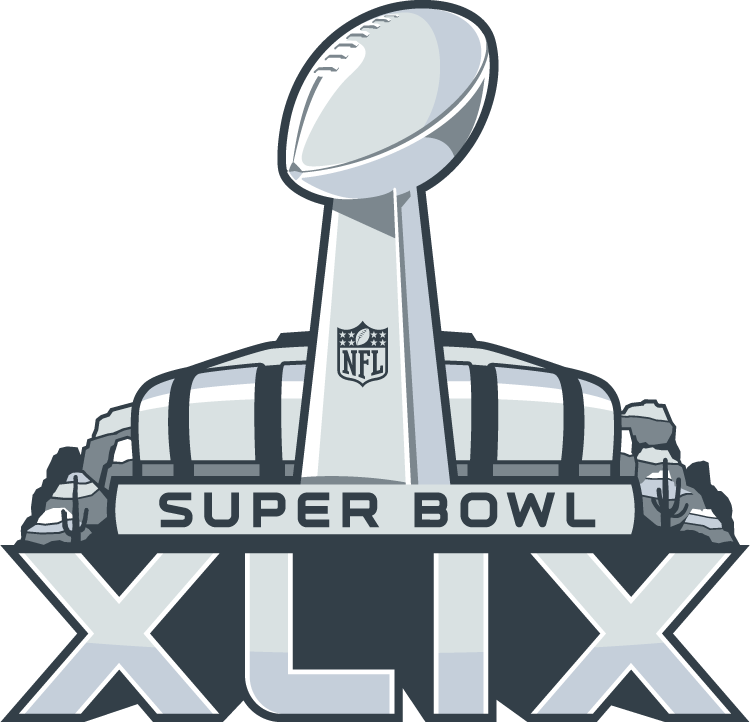 Vector Black And White Super  - Super Bowl Clipart