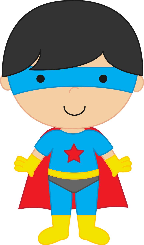 Super Boy Clipart #1