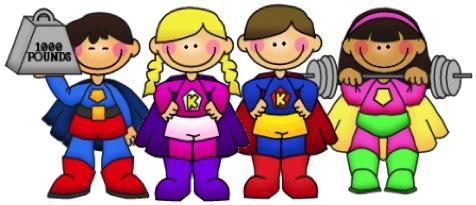 Super Hero Clip Art - .