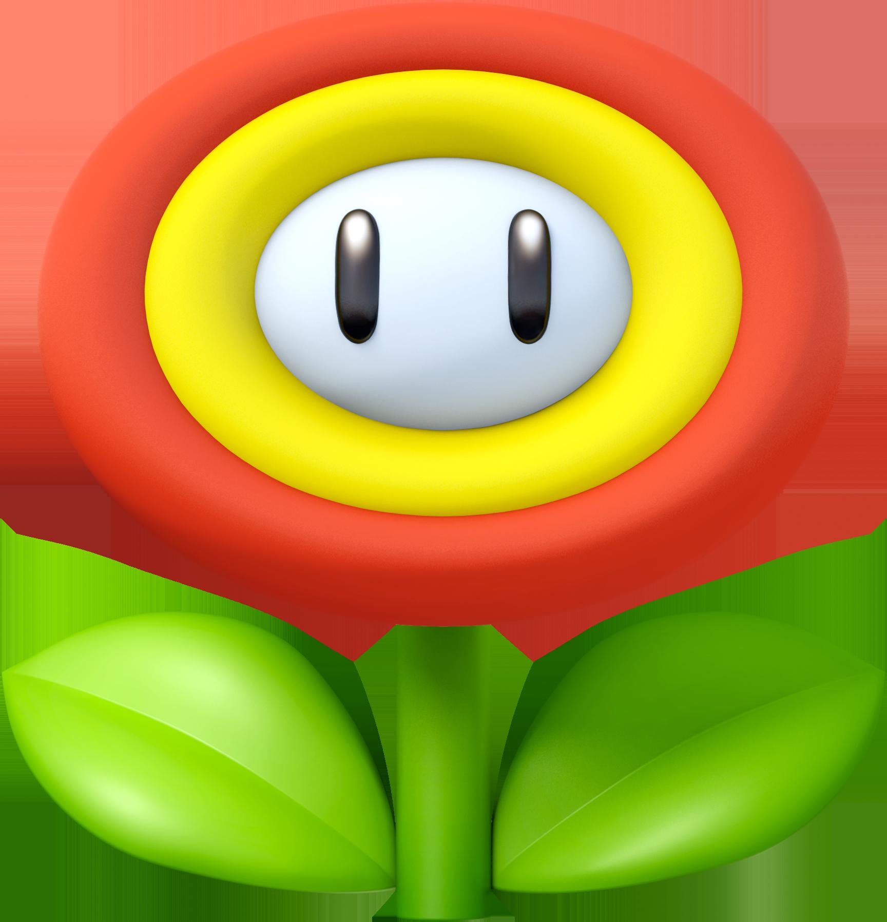 Super Mario Clipart flower