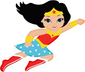 Supergirl flying up clipart.