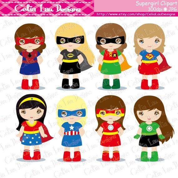 image 0 - Supergirl Clipart