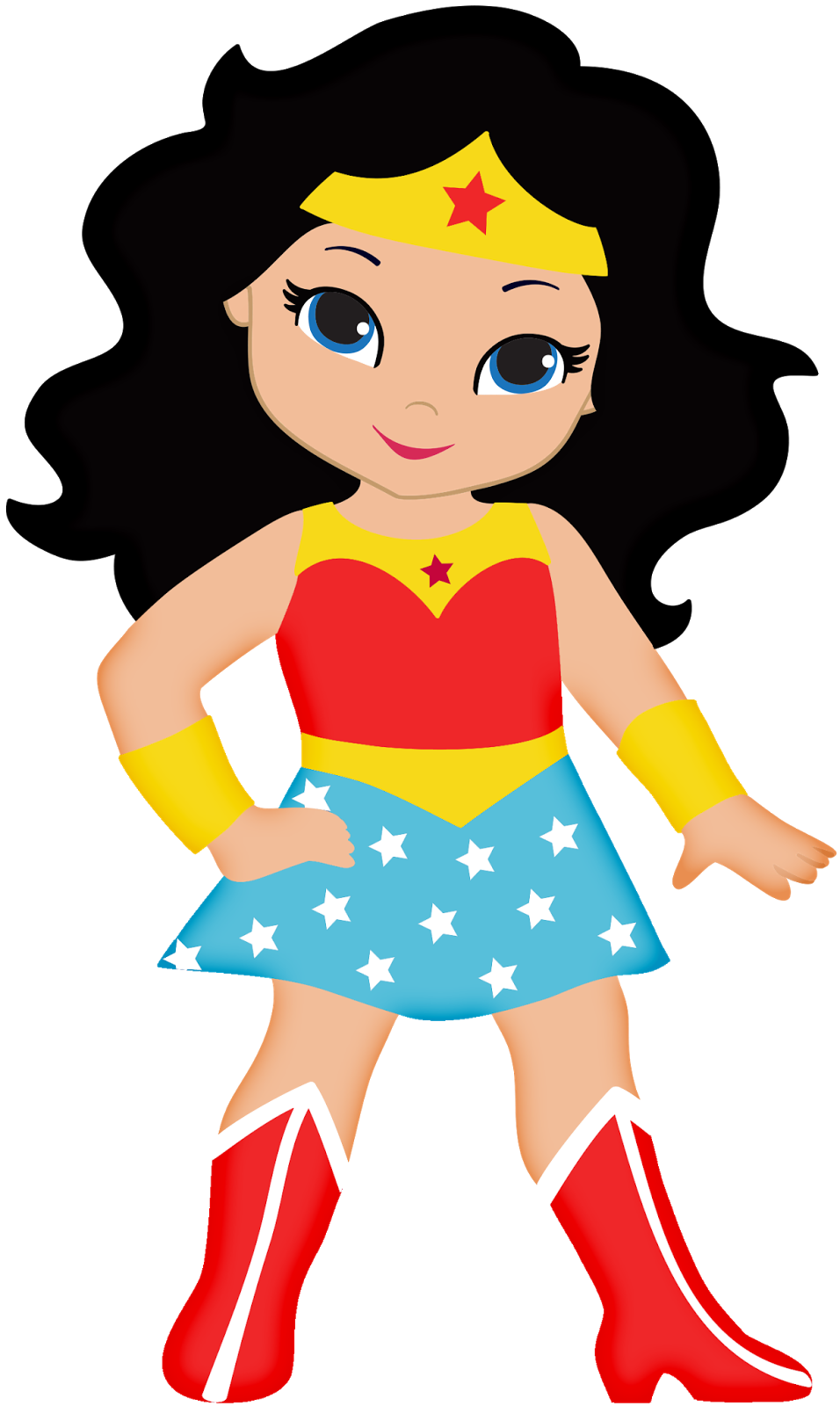 Supergirl clipart cute person - Free png,logo,coloring pages supergirl