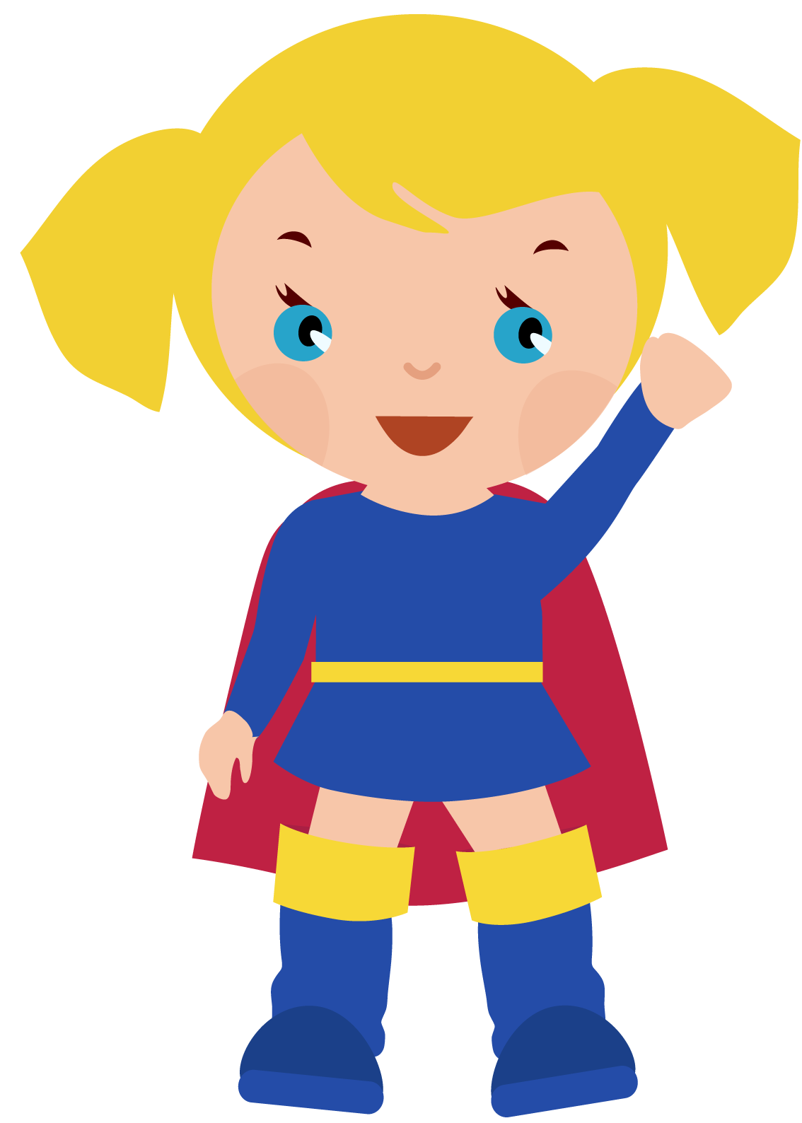Supergirl Free Clipart #1