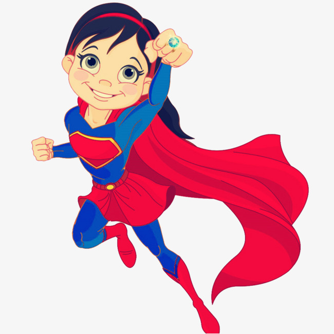 cartoon superwoman, Vector, Superman, Female PNG Image and Clipart