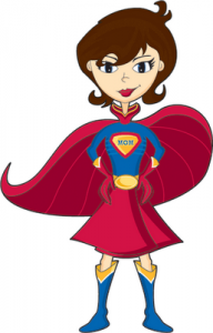 Superwoman Free Clipart #1