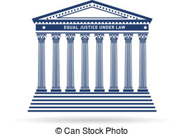 Supreme Court Building Clipart. court building image logo .