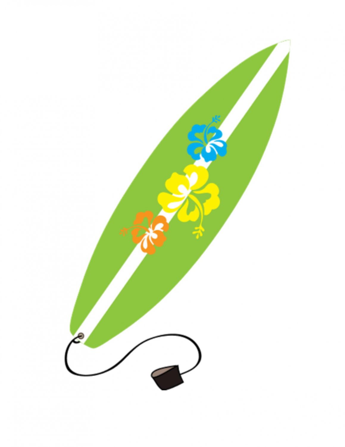 Surfboard others 1 clipart image icons free graphics clipart