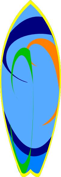 Surfboard surf board clipart clipart