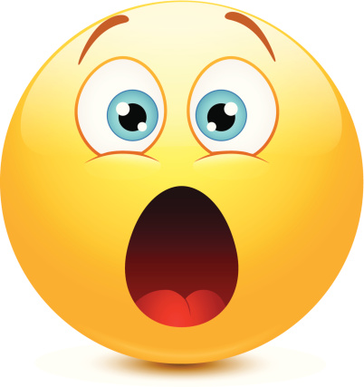 Surprised smiley clipart; Shocked Smiley Faces ...