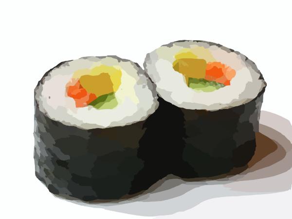 Sushi clipart 1 Sushi clipart 2