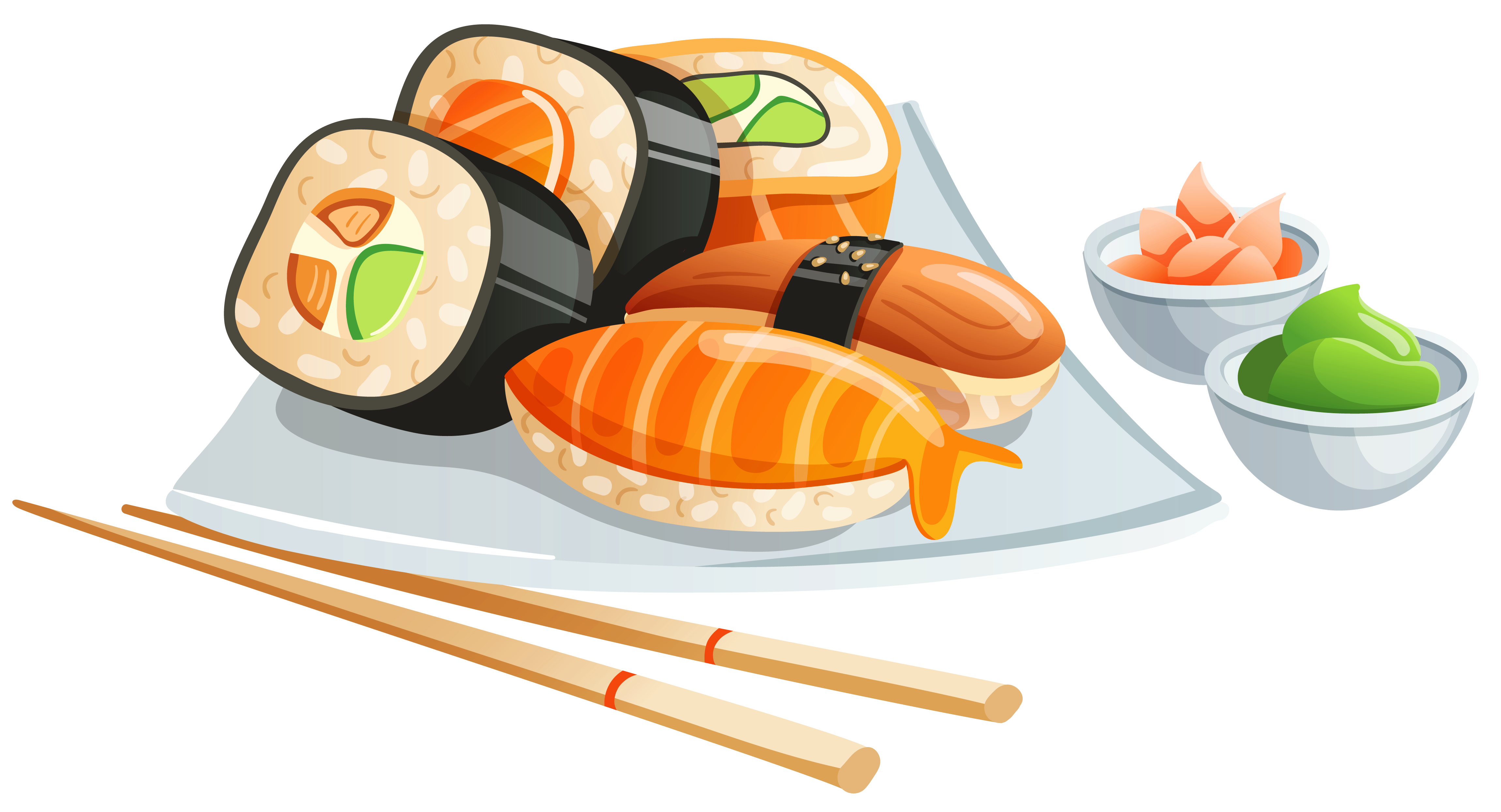 Sushi PNG Clipart Image