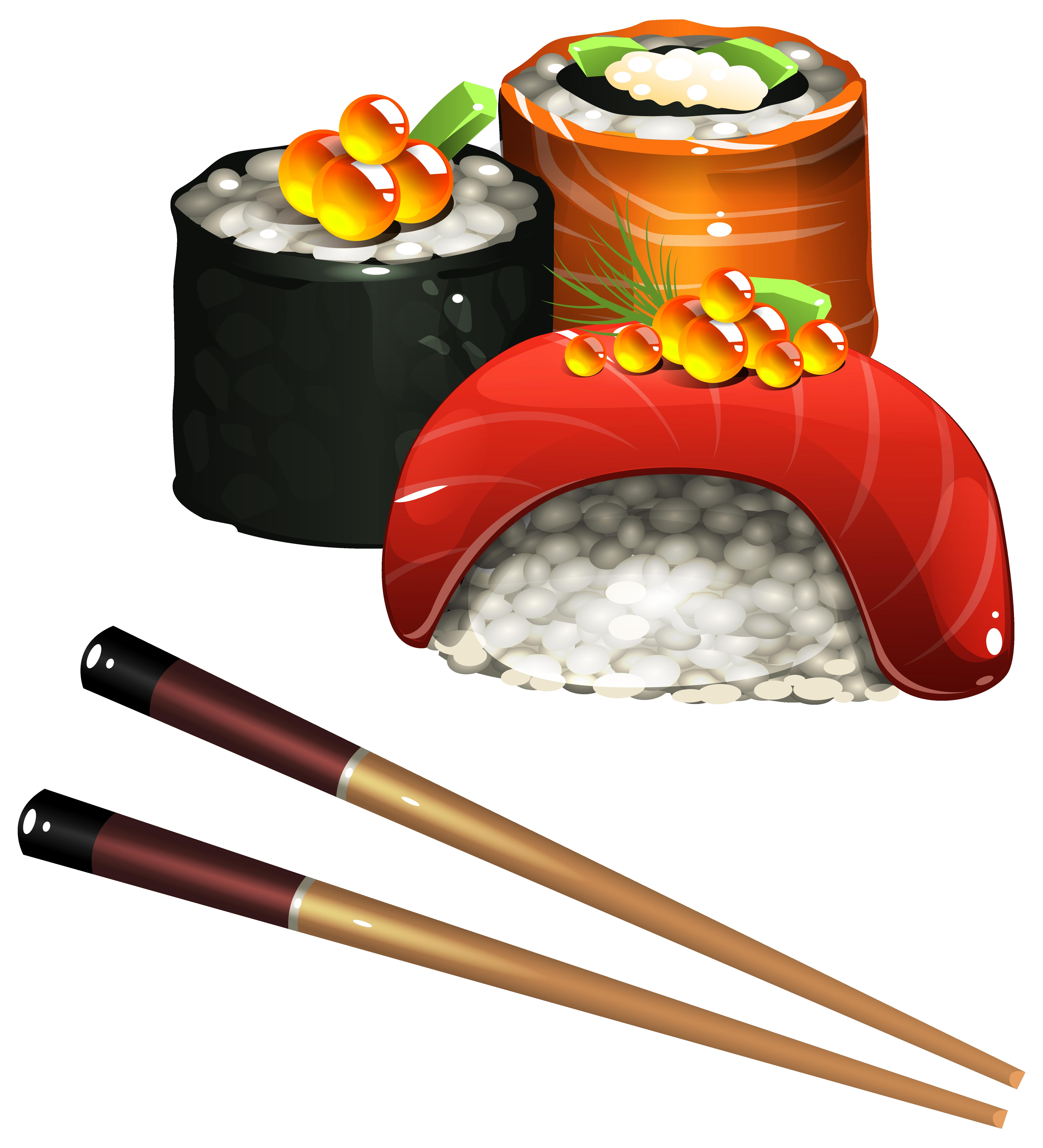 ... Sushi Set PNG Clipart Image
