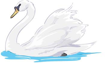 Swan clip art free free clipart image 2 image