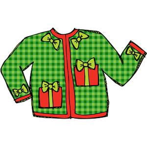 Sweater Clipart Christmas Sweater Jpg