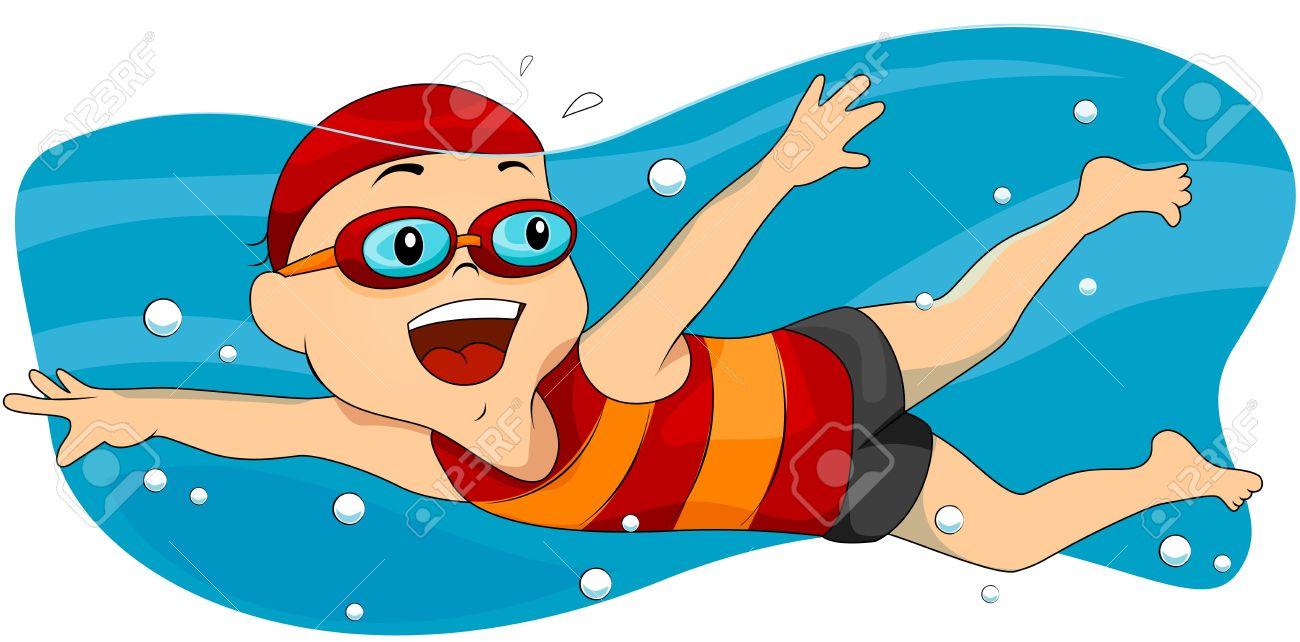 swimming clip art id-26938 .