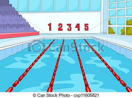 swimming pool vector clip art