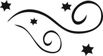 Swirl line clip art