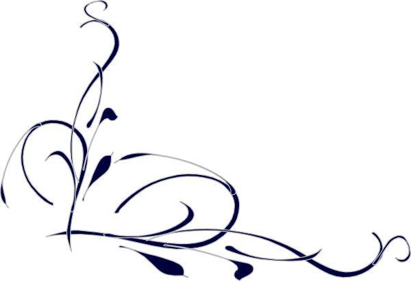 Elegant swirl designs clip ar - Swirls Clipart