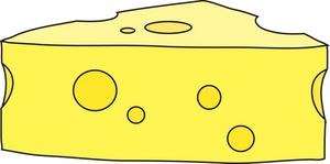 Swiss Cheese Clipart Image Swiss Cheese