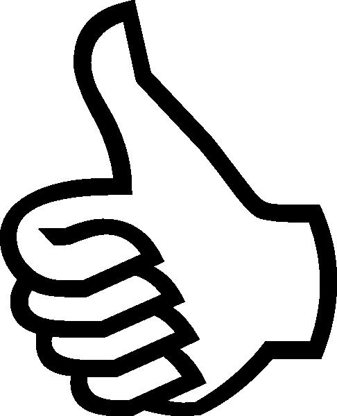 Symbol Thumbs Up Clip Art At Clker Com Vector Clip Art Online