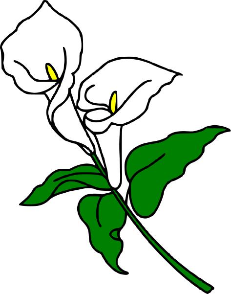 Sympathy Clipart Lilies Png