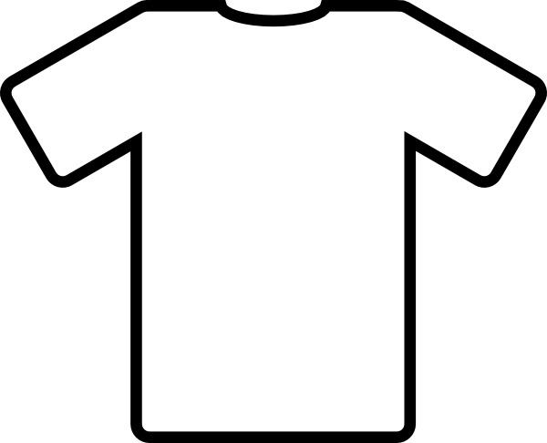 Shirt Clip Art White T Shirt Clip Art Free Vector In Open Office Drawing  Svg T-Shirt Clipart