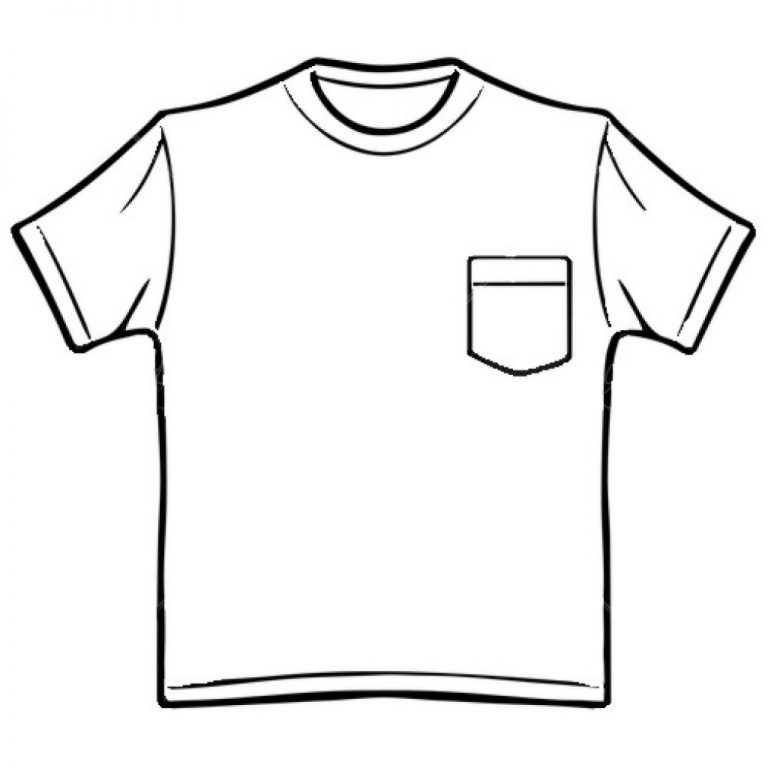 shirt clipart black and white t shirt back gallery for work shirt pocket clip  art fashion ideas