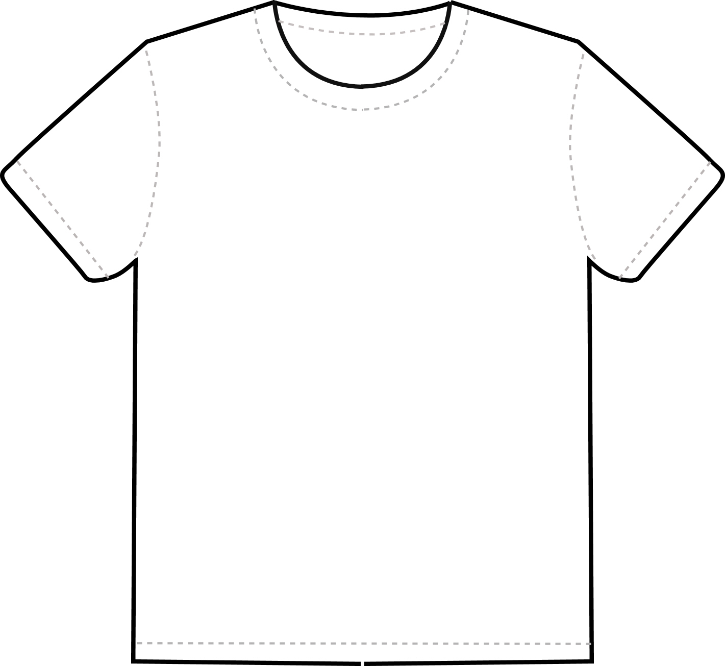 shirt using this template to help you it must include clipart
