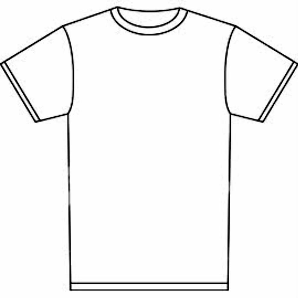 T-shirt blank shirt clipart kid 3