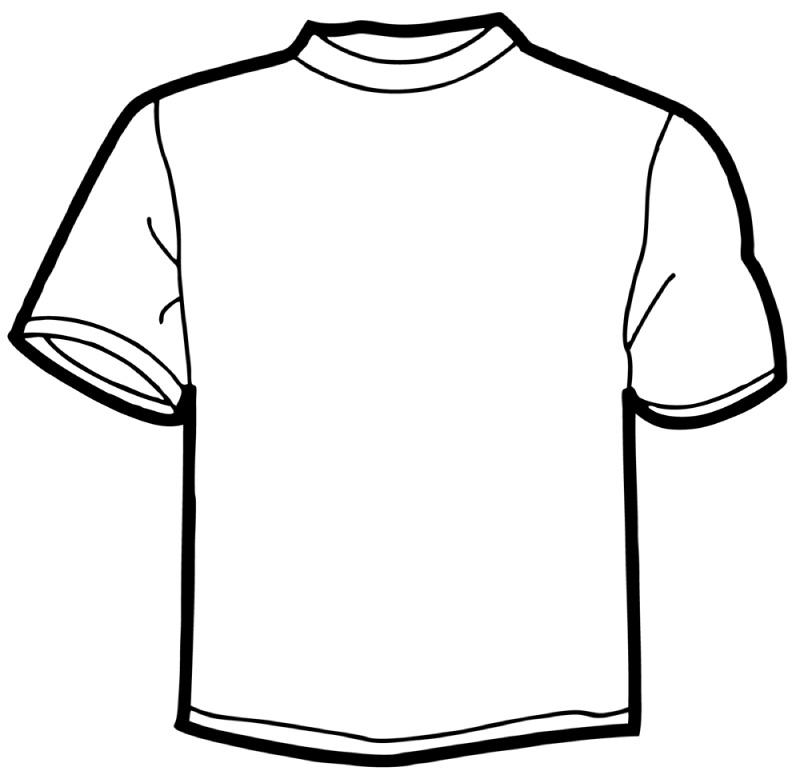 T Shirt Clip Art Outline