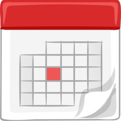 Table Calendar Clip Art Free Vector In Open Office Drawing Svg Svg