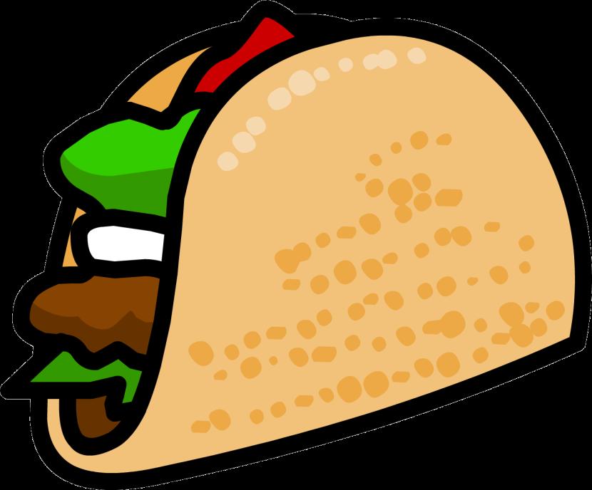 Taco clipart 2