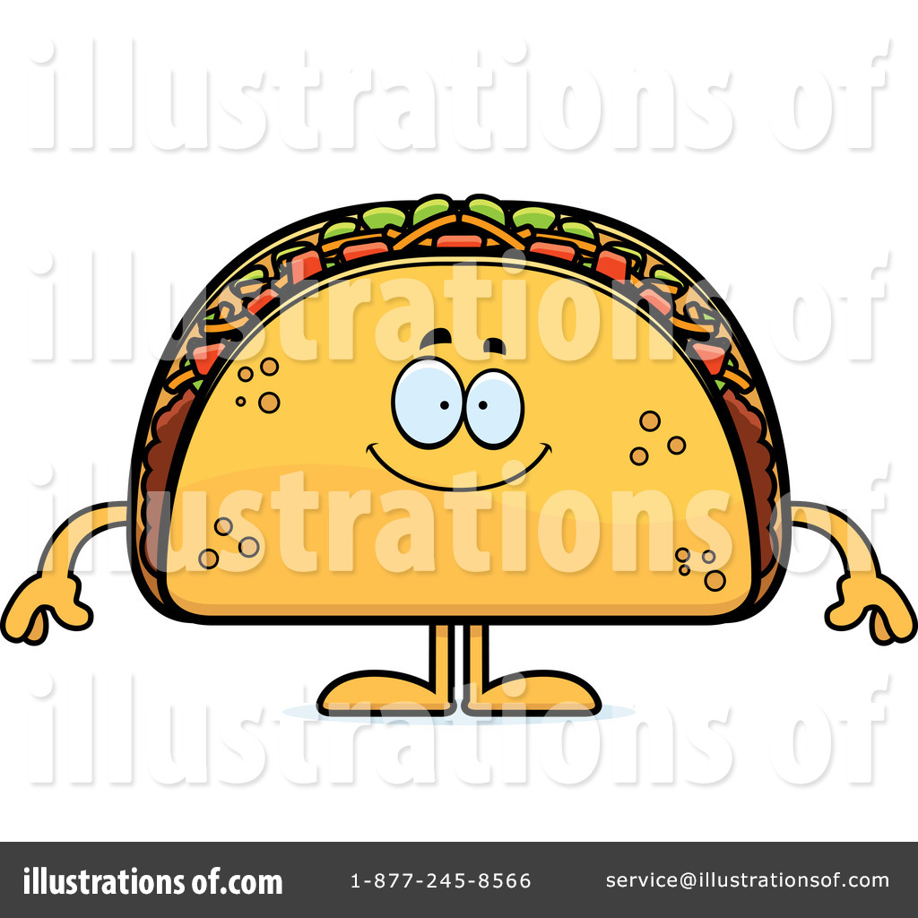 Royalty-Free (RF) Taco Clipart Illustration #1302502 by Cory Thoman