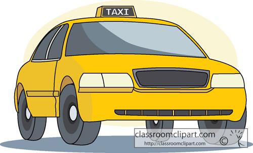 Taxi 34 Classroom Clipart .