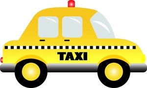 Taxi cliparts
