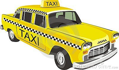 Taxi Stock Illustrations .