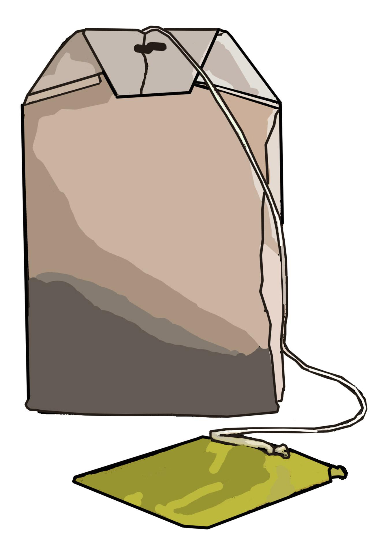 Tea Bag Clip Art