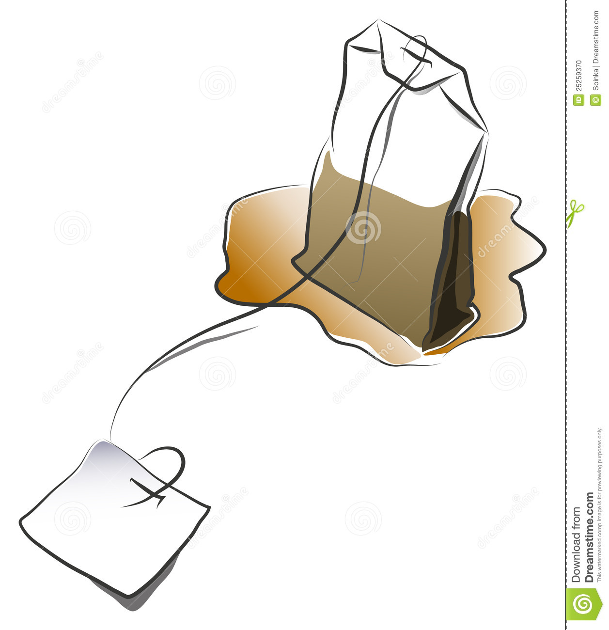 Tea Bag Clipart Images Pictures Becuo