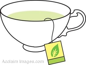 Chinese Green Tea Clipart #1