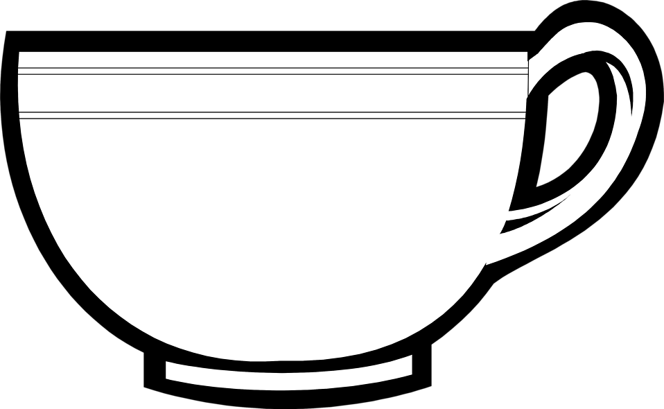 Tea Cup Free Stock Photo Illustration Of A Tea Cup 7671