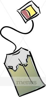 Teabag Clipart