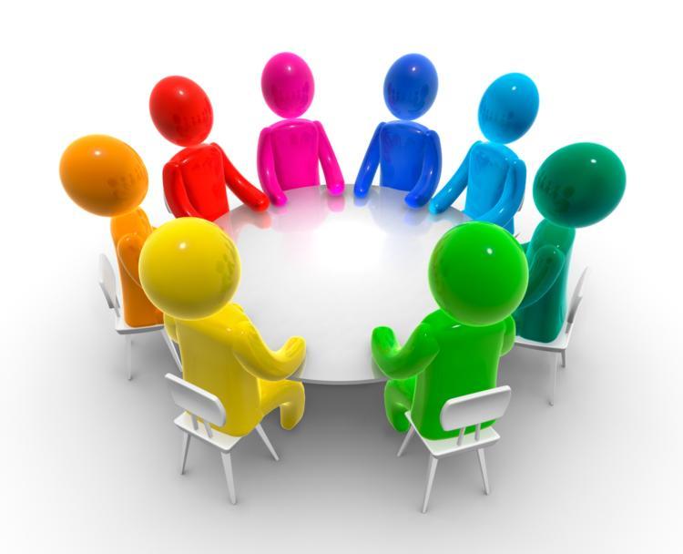 Team Meeting Clipart #1