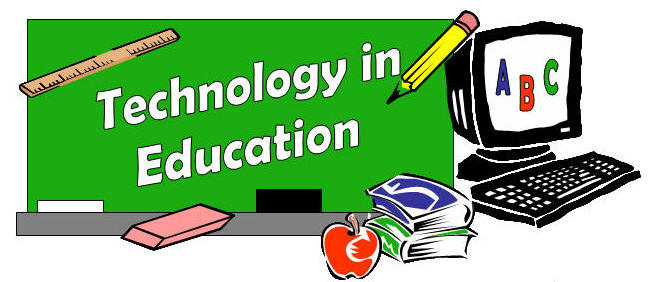 Technology In The Classroom Clipart #1