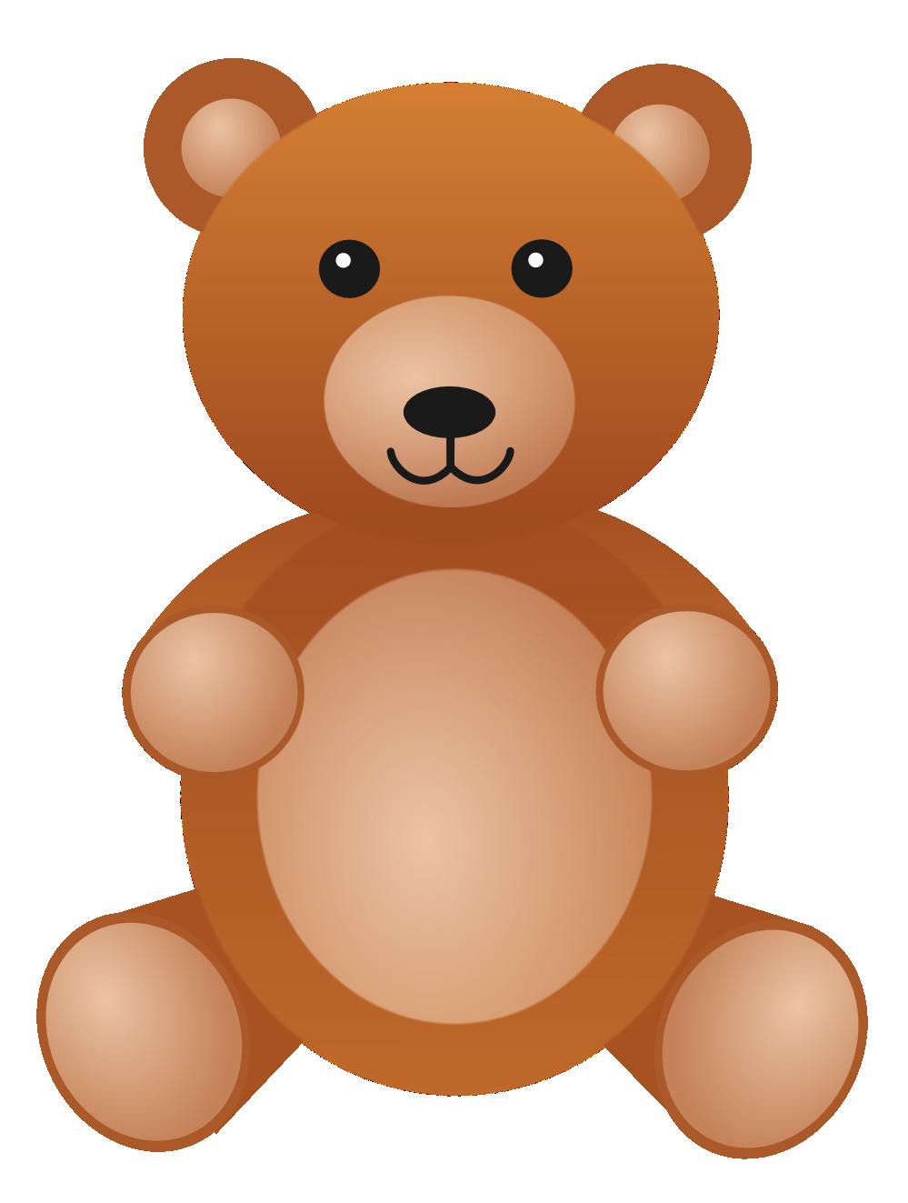 Teddy Bear Clip Art #12121