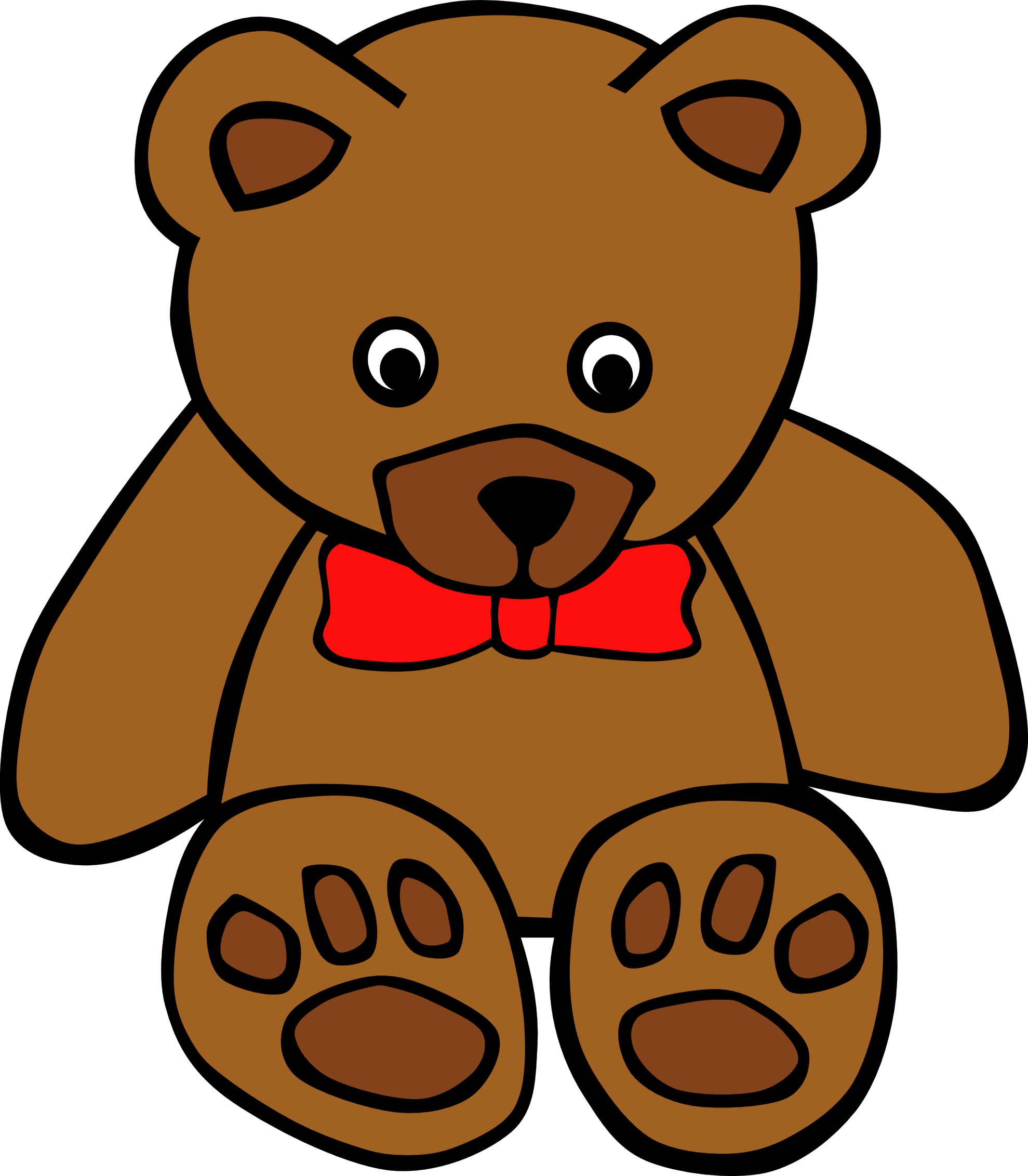 Teddy bear clipart free clipart images 4