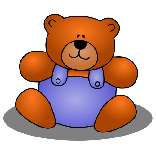 Teddy bear clipart free clipart images 8