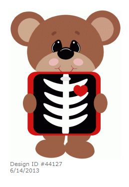 Teddy Bear ~ Xray bear by .