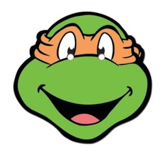 Teenage Mutant Ninja Turtles Clip Art. Teenage Mutant Ninja Turtles Coloring Face