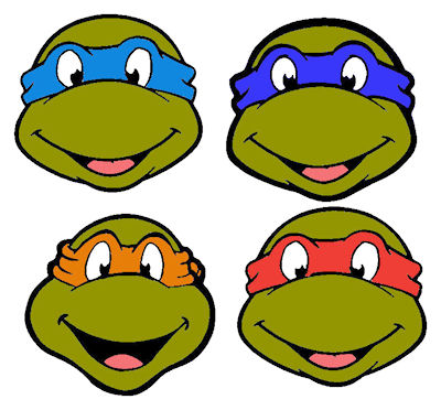 Teenage Mutant Ninja Turtles Heads Clipart Best Clipart Best